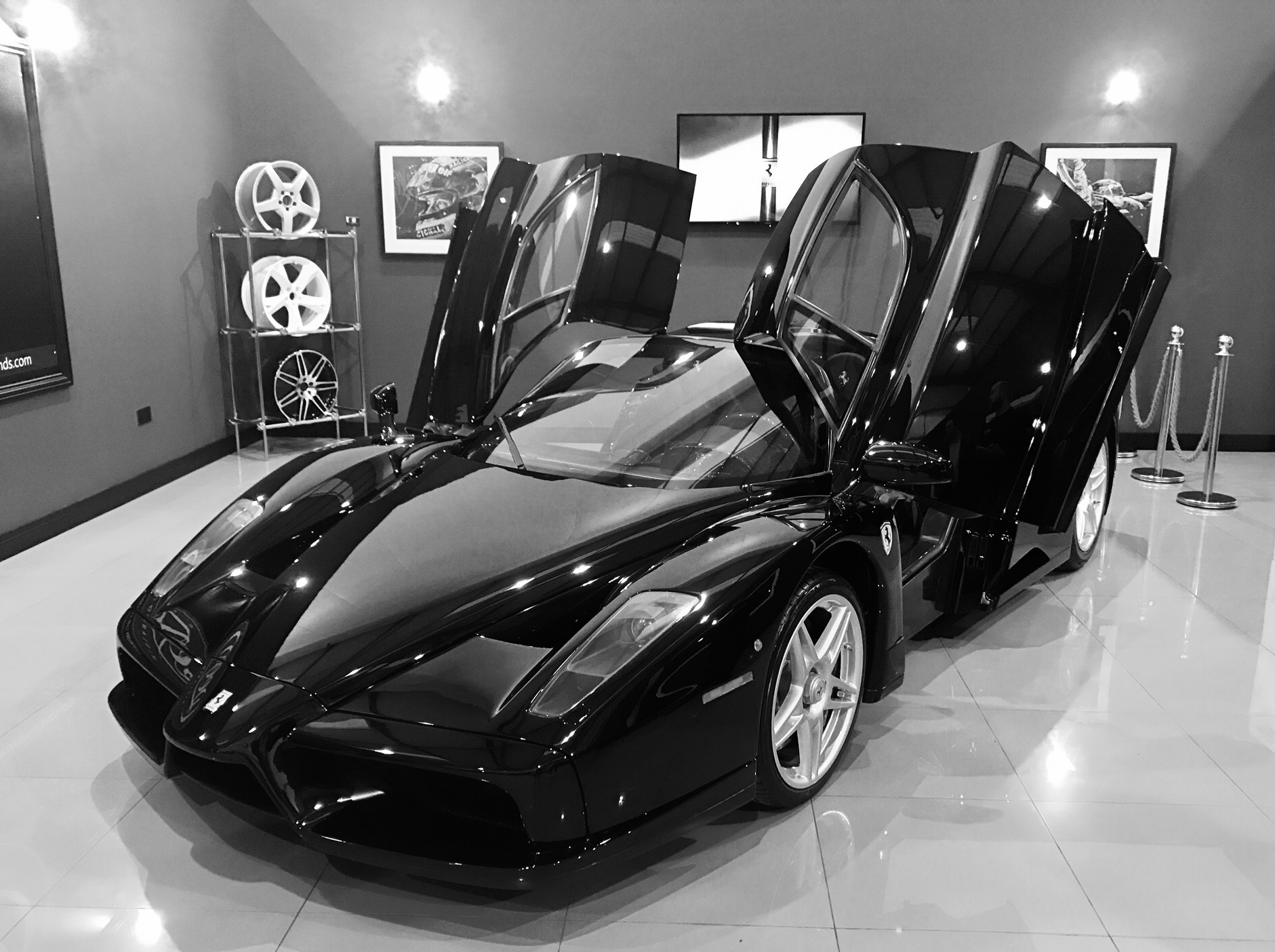 ferrari 2017 black. a black enzo ferrari...that is all. ferrari 2017